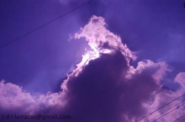 Purple Sun by ponkhan