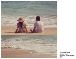 Summer Beach Story by firstjulyofsummer