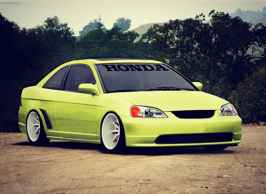 Honda-Civic Coupe-2003 (Virtual Tuned) by VTforlife
