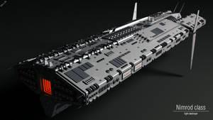 Nimrod class light destroyer by Progenitor89
