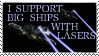ships with lasers stamp by OmegaDreamSeeker11