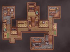 Time Fantasy: Interior Test Map by Luiishu535