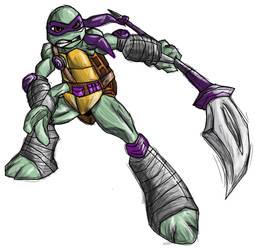 TMNT 2012 - Donatello in Next Mutation outfit by Hero-Jaxx