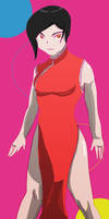 Red dress no lines by fighterxaos