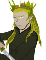 Thranduil by fighterxaos