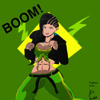 Laura Matsuda by fighterxaos