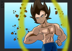Quick Vegeta by fighterxaos