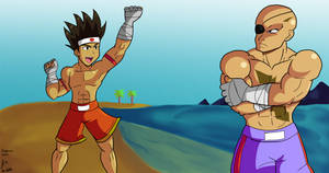 Joe challenges Sagat by fighterxaos