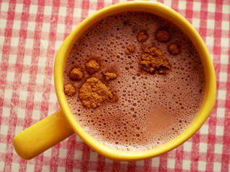 'puppy love' hot chocolate by DeLuxe-Edition