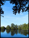 Blue lake by Mimysse