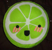 Lime Plush by rainbow-machine