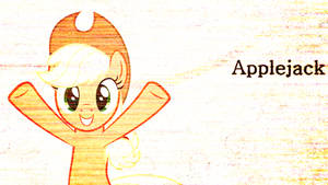 Applejack Sketch Wallpaper by Game-BeatX14