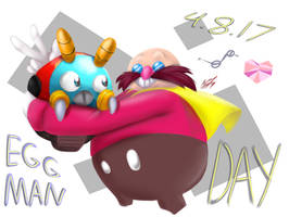 Happy Eggman Day!! by Glu10morgen