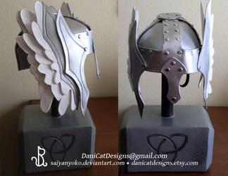 Custom Thor Helm by saiyanyoko