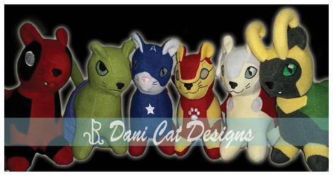 Super Kittens Group 1 by saiyanyoko