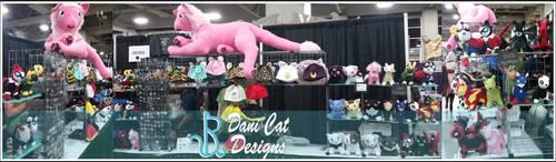 Dani Cat Designs Salt Lake FanX 2016 by saiyanyoko