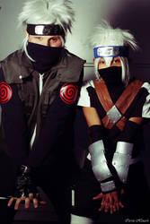 young et jounin Kakashi Hatake - Naruto Shippuden by Strange-Gal