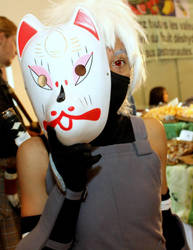 Kakashi Hatake anbu version - Naruto Shippuden by Strange-Gal