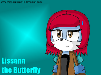 Lissana the Butterfly by ChicaOtakuNya11