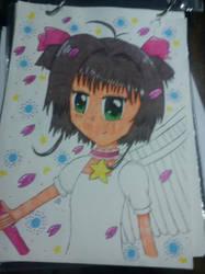 Sakura Card Captor [Mano] by ChicaOtakuNya11