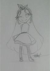 CHIBI! Looks like Blossom XD by YuzukiNeko01