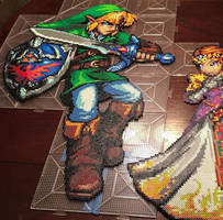 Link Perler Completed by NateScreenPrints