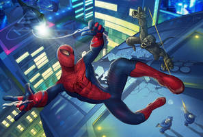 The Amazing Spider-Man by Diam0nt