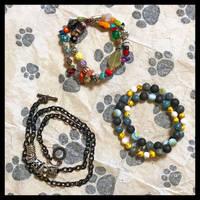 Double-Wrap Bracelets -2 by TeaPhotography