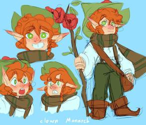 Poppy by Clownmonarch