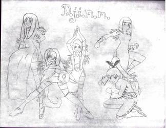 DJINN Final Sketch by CassidyxEdward4ever