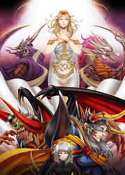 The Most EPIC Dissidia Picture You Will Ever See by CassidyxEdward4ever