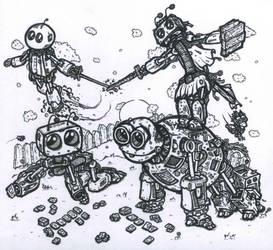 Showdown by Super-Wooper