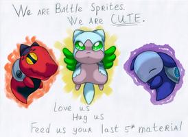 Battle Sprites by KannaTC