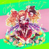 Junko Enoshima Danganronpa by CreamyMono