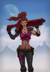 Blaster Girl by indiosamurai