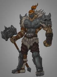 Demon Hammer by indiosamurai