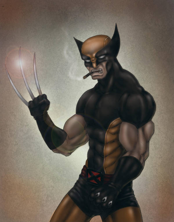 THE WOLVERINE by indiosamurai