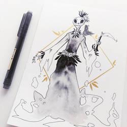 The Grim Reaper by SerenaR-art