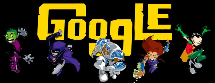Teen Titans Google Logo (+installation guide) by Albusonita