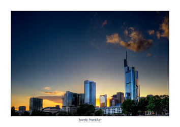 lovely Frankfurt by jahno-pictures