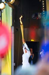 Torch Relay Sheff 11 by letTheColorsRumble