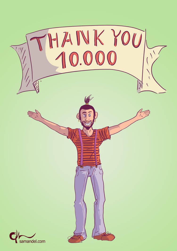 thankU10000 by samandel