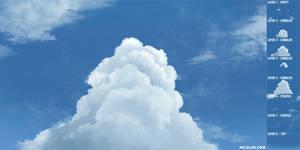 Cumulus Cloud by mclelun