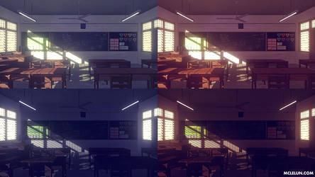 Classroom by mclelun
