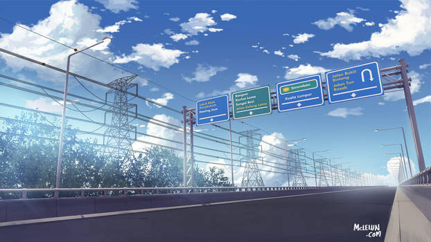 Highway by mclelun