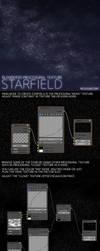 Blender3D Procedural Texture Starfield by mclelun