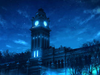 Clock Tower by mclelun
