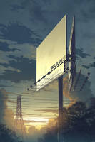 advertisement board by mclelun