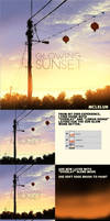 Glowing Sunset Tutorial by mclelun