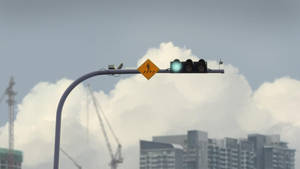 horizontal traffic lights by mclelun